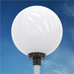 K4. Post-top luminaire (suitable for use with LED)