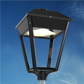 K7. Post-top luminaire (suitable for use with LED)
